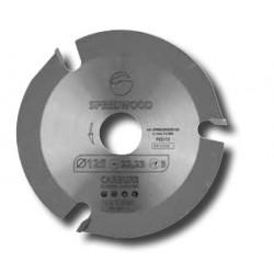 Disco amoladora 3Z D.125 22,23 eje