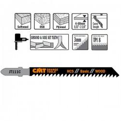 5 Hojas sierras p/madera I-75 L-100 Paso 3