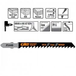25 Hojas sierra p/madera I-75 L-100 paso 4
