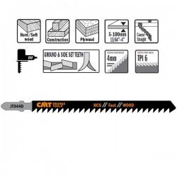 5 Hojas sierra p/madera I-110 L-132 paso 4