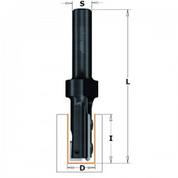 Fresa Z1+1 D.16 I-48,3 L-111 mango 12 MD