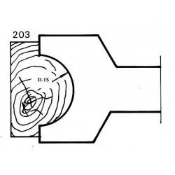 Radio 15 D.120 30 eje HSS