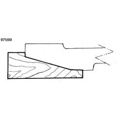 Perfil 071/33 D.210 50 eje HSS