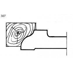 Perfil 307 D.140 50 eje HSS