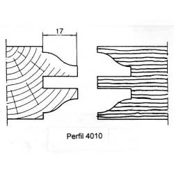 Perfil 4010 D.160 50 eje HSS