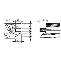 Perfil 4003 D.140 50 eje HSS