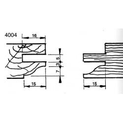 Perfil 4004 D.150 50 eje HSS