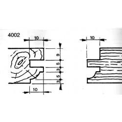 Perfil 4002 D.140 50 eje HSS