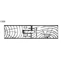 Perfil 1309 D.150 50 eje HSS