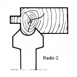 Radio 2 D.140 50 eje HSS