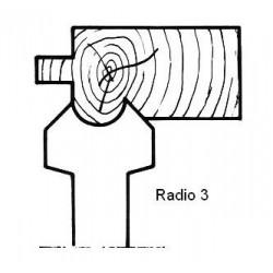 Radio 3 D.120 40 eje HSS