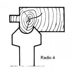 Radio 4 D.140 50 eje HSS